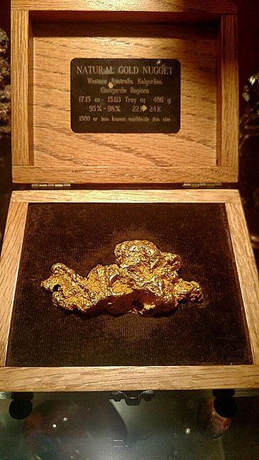 17.15oz Natural Gold Nugget