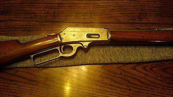 Antique Lever Action Rifle