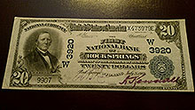 $20 Rocky Springs Bank Note