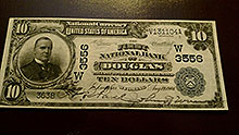 $10 Douglas Bank Note