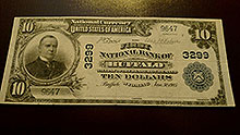 $10 Buffalo Bank Note