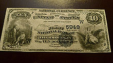 $10 Thermopolis Bank Note