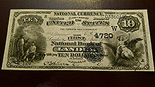 $10 Lander Wyoming Bank Note
